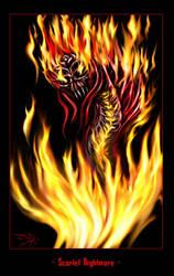 Scarlet Nightmare by darthhorus