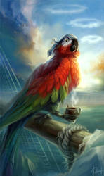 Parrot Flint by Darvete
