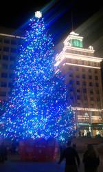 Blue Christmas by ChocoCherry1