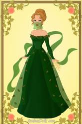The Green Lady: Goddess Sarra by ChocoCherry1