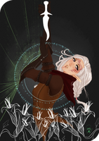 Commission:Tarot Card Death by AlexielApril