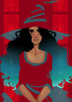 Red Witch by AlexielApril