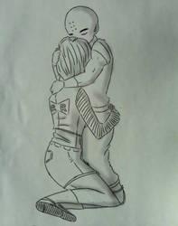I'll protect you cover by kya Original: CrazyJen  by Kya1994