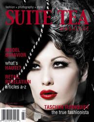 Suite Tea Magazine Cover by CelestialStorms