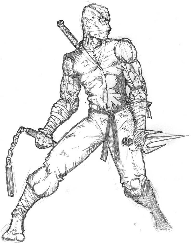 Ninja warrior by ntholden