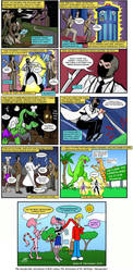 Dr. McNinja / Inexplicable Adventures of Bob! by jimcleaveland