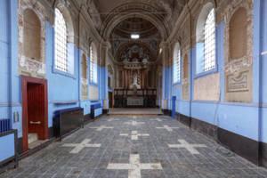 Eglise ecole devant 01 by yanshee