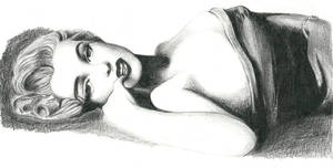 Marilyn Monroe reclining by Macca4ever