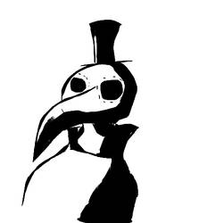 Plague Doctor Redraw by IDrawCiggaretteOCs