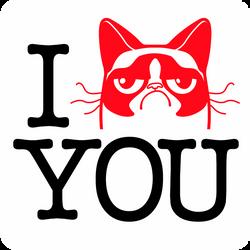 I GrumpyCat YOU by MathieuBeaulieu