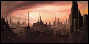 Nubilous Metropolis by inkvenom