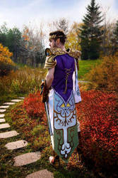 Princess Zelda - Male cosplay by Kupahh