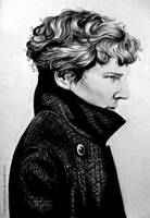 Sherlock WIP by love-a-lad-insane