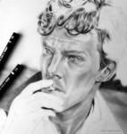 Benedict Cumberbatch WIP by love-a-lad-insane