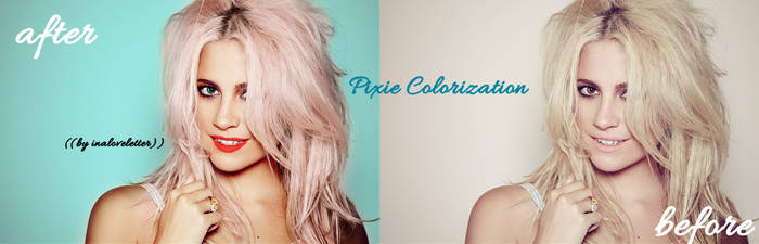 PIXIE Colorization Edit by inaloveletter