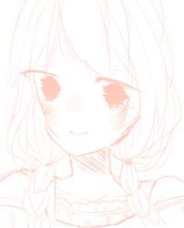 oc doodle by Ririmei