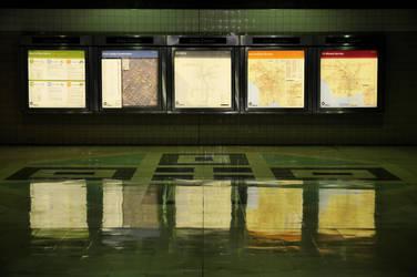LA Rail Maps by trashedinla