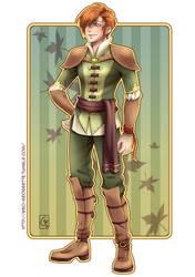 Commission 11 Magical Boy Earth by GeorgetteKirusk