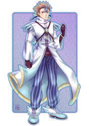 Commission 12 - Magical Boy Air by GeorgetteKirusk