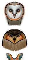 Three Owls by Soulkreig