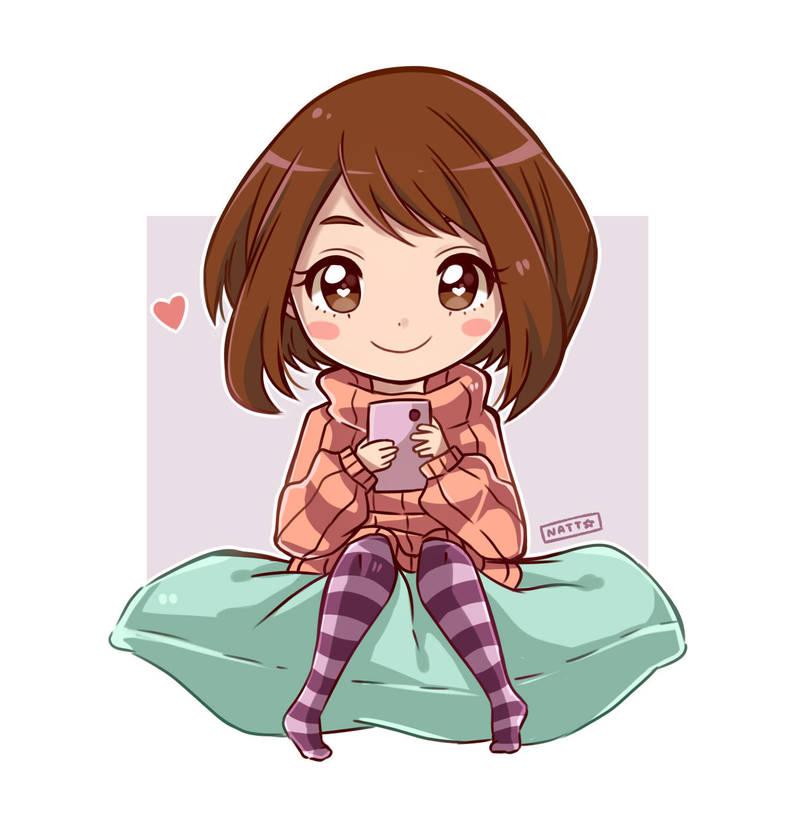 Uraraka Ochako Chibi - Boku no Hero Academia by Nataly2