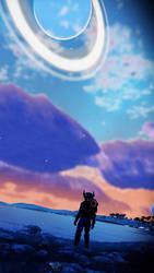 No Mans Sky NEXT phone wallpaper  by ShadowTheHedgehog24