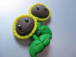 Plants vs. Zombies sunflowers New version by Lunatica-Reiko
