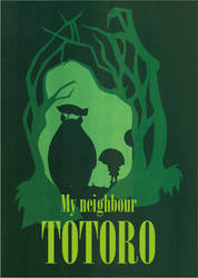 My neighbor Totoro by Lunatica-Reiko