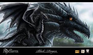 The Last Enchanter_Dragon1 by Luaprata91