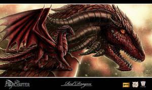 The Last Enchanter_Dragon2 by Luaprata91