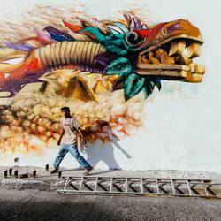 Grafitti en San Roque by MrcohAnt