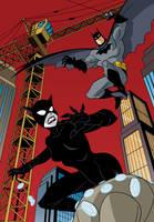 DC Super Heroes: Batman vs. Catwoman - 04 by TimLevins
