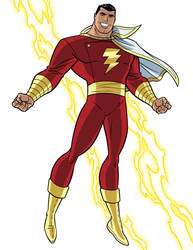 How To Draw DC Heroes - Captain Marvel/Shazam by TimLevins