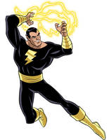 How To Draw DC Villains - Black Adam by TimLevins