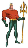 Justice League DCAU Roll Call - Aquaman by TimLevins