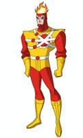 Justice League DCAU Roll Call - Firestorm by TimLevins