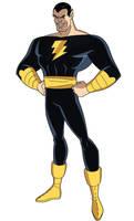 Justice League DCAU Roll Call - Black Adam by TimLevins