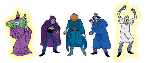 Scooby-Doo Encyclopedia: Classic Bad Guys 5 by TimLevins