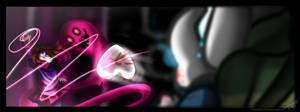 [Speed Paint !] Glitchtale :  La Bete Noire by Seiini