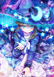 The Blue Sea Witch | Wadanohara by Seiini