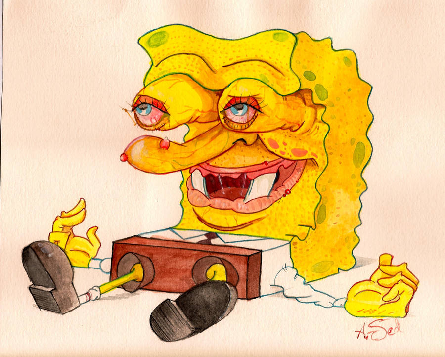 Spongebob Square Pants by tesseract-sect