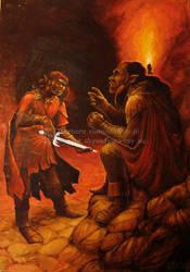 Hobbit - chapter 4 by vilva73