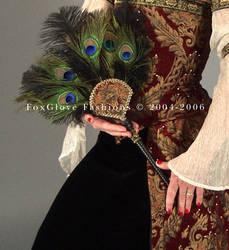 Elizabethan Ensemble Fan by FoxGloveFashions