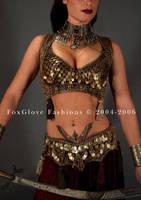 Cabaret Ensemble front detail by FoxGloveFashions