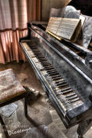 ... and the piano sounds like a memory II by Dioxenya