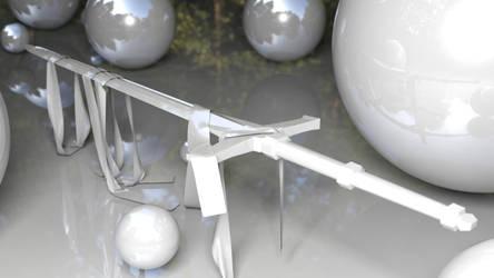 Sword 3D Model scene by RahasQc