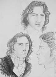 James D'arcy sketch by GvonR
