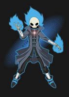 Skull Mage by AtokNiiro