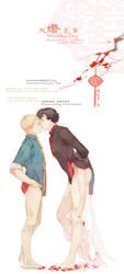 Johnlock Chinese wedding to reapersun by mlcamaro