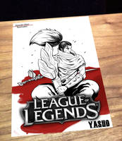 Postcard Yasuo by Damian-Diaz